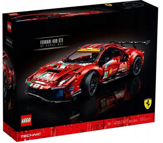 Lego Technic Ferrari 488 GTE AF Corse 42125 Łódź