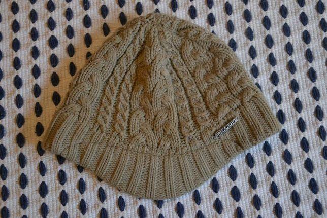 Gorro boné chapéu Volcom original castanho com pala - Ski, snowboard