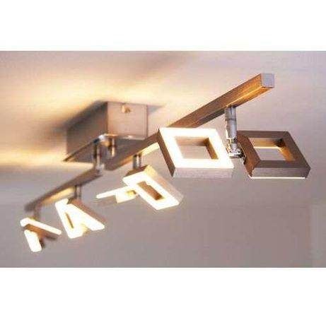 Lampa sufitowa Twins LED ruchoma listwa Paul Neuhaus 6648-55 modern.
