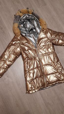 Dwustronna kurtka zimowa dziecięca/damska