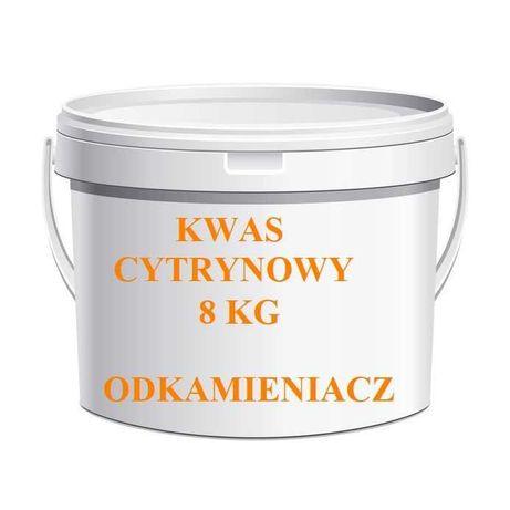 Kwas cytrynowy techniczny, odkamieniacz wiadro 8 kg - Kurier