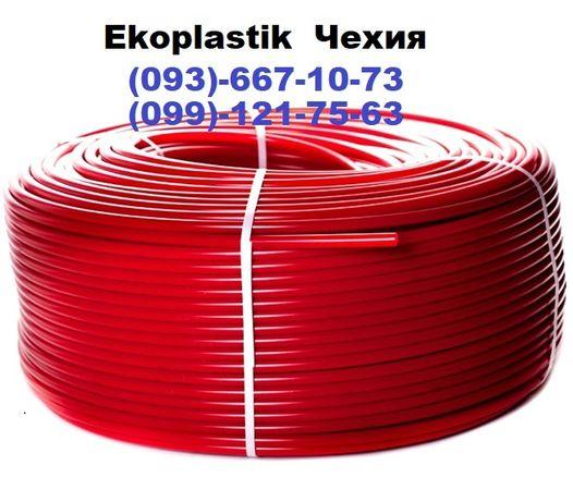 Труба для теплого пола Ekoplastik Чехия.В подарок 100 скоб