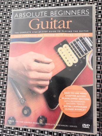 """CD/DVD """"Absolut Beginners Guitar"""" Pra Aprender a Tocar Guitarra do 0"""