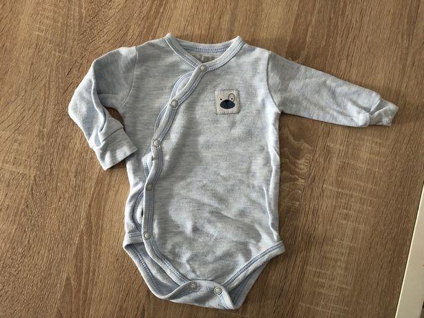 Błękitne body niemowlęce chłopięce NiNi, rozmiar 62, stan bardzo dobry