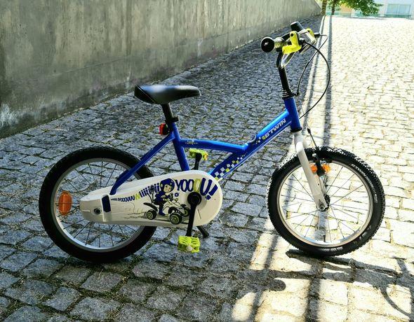 Bicicleta de Criança 4, 5 e 6anos BTWIN