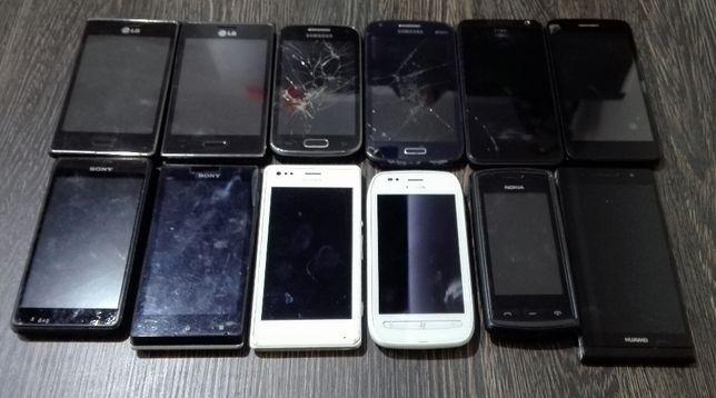Smartfony telefony paczka telefonów 12 sztuk Sony Nokia zarobek wysyłk
