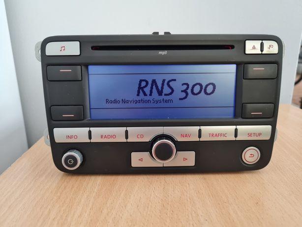 VW Golf V, VI Rns300 Radio Cd Navigation z kodem