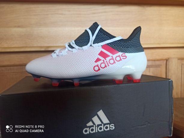 Adidas X 17.1 FG Lanki profesjonalne rozmiar 39 1/3 dł.wkładki 24.5 cm