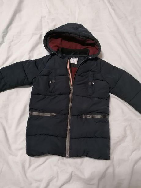 Mayoral kurtka zimowa chłopięca długa 3-4 latka 104