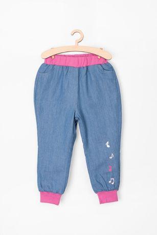 Spodnie jeansowe 5 10 15 r.80