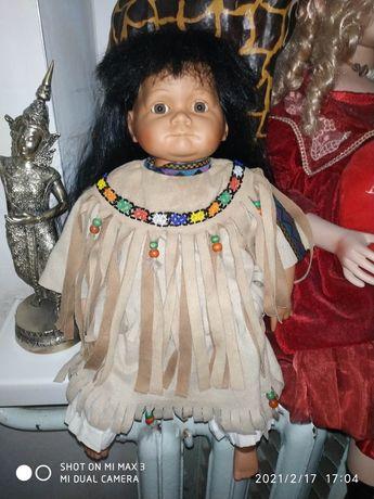 Фарфоровая кукла Leonardo collection 48 см