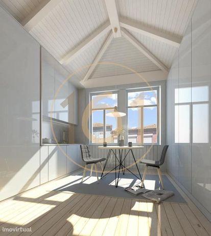 LOFT T1 ultimo piso em Brito Capelo, Matosinhos, apartamento com ch...