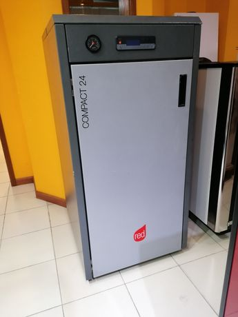 Caldeira a pellets RED COMPACT 24kw,