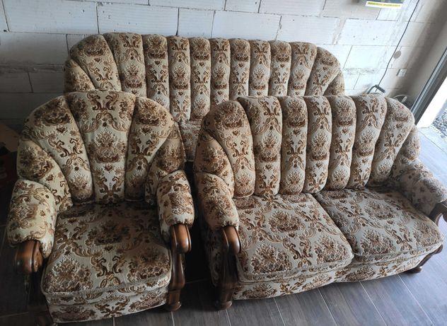 Komplet wypoczynkowy 3+2+1 sofa, kanapa, fotel