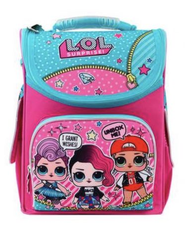 Рюкзак школьный Lol yes каркасный