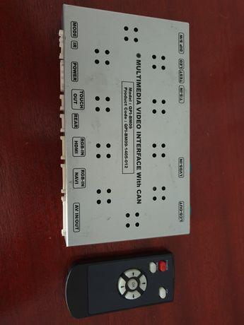 Interface video multimedia BMW