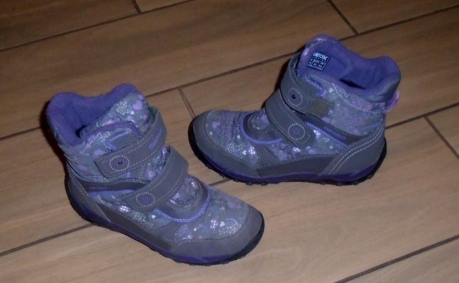 Зимние термо ботинки GEOX Primigi Quechua 34.35.36,37,39 Ecco р