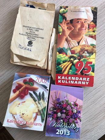 Kartka z kalendarza scrapbooking decoupage handmade vintage rękodzieło