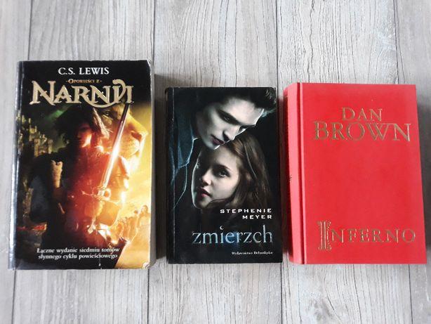 """Książki - """"Inferno"""" Dan Brown, Saga Zmierzch cz 1 Stephenie Meyer"""