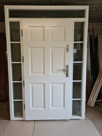 Drzwi drewniane 160x232