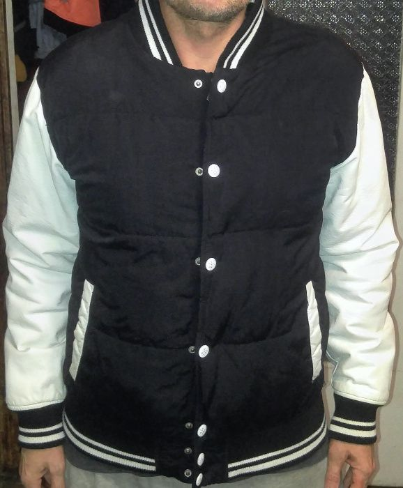 куртка бомбер FSBN S-M размер теплая, демисезон