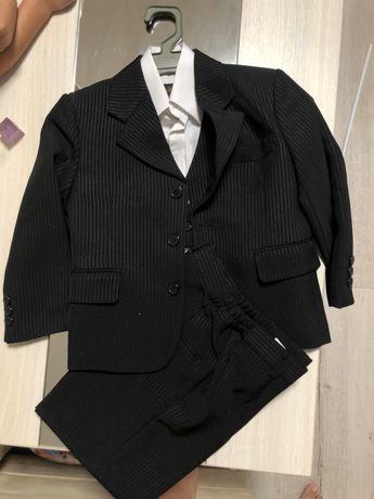 Школьная форма пиджак брюки жилет