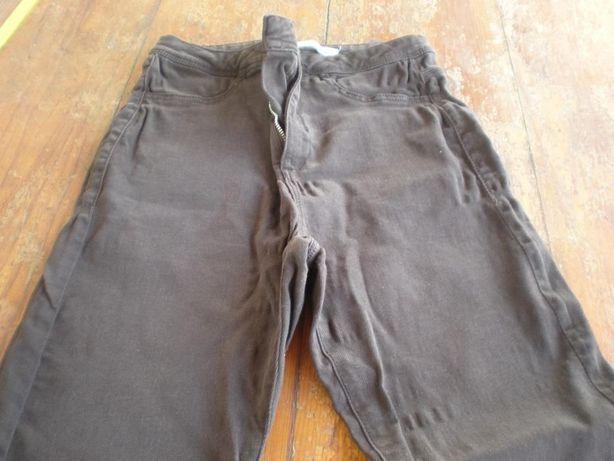 calças castanhas Bershka 34
