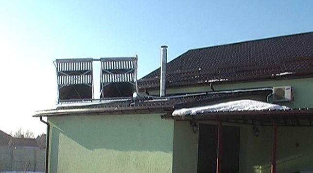 солнечный коллектор нагрев воды тепловой насос