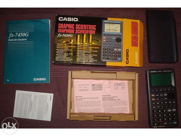 Calculadora cientifica texas fx-7450g - nunca usada - nova