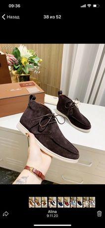 Мужские туфли, ботинки Loro Piana
