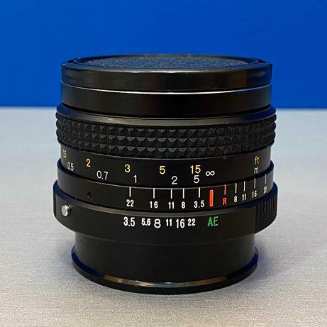 Konica Hexanon AR 28mm f/3.5 (Adapt. Canon EF-M/Fuji/Sony/MFT)