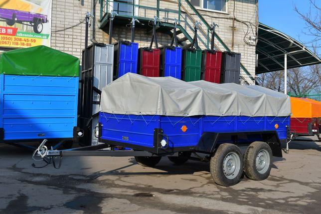 Двухосный легковой прицеп ЛЕВ-250 2500х1400мм от завода