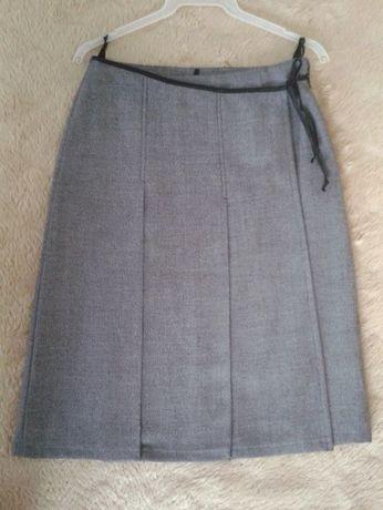 nowa spódnica tweed na zakładkę 36-38