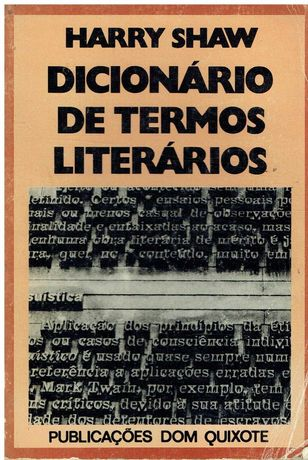 7797  Dicionário de Termos Literários   de Harry Shaw