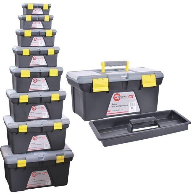 Комплект ящиков для инструментов INTERTOOL BX-0308 Ровно - изображение 1