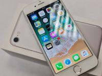 Piękny Iphone 7 32GB/ Silver/ Bateria oryg 95%! 100% sprawny/ Gwarancj
