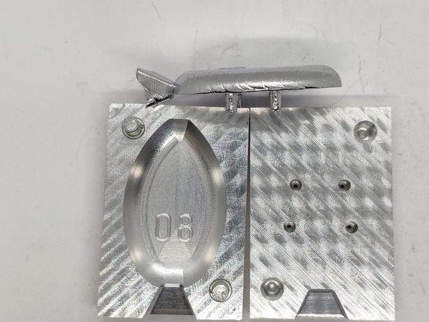 Форма для отливки грузов на кормушку Флэт