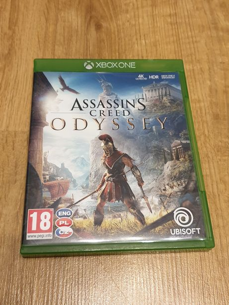 Gra Assassin's Creed Odyssey XBOX ONE PL BDB