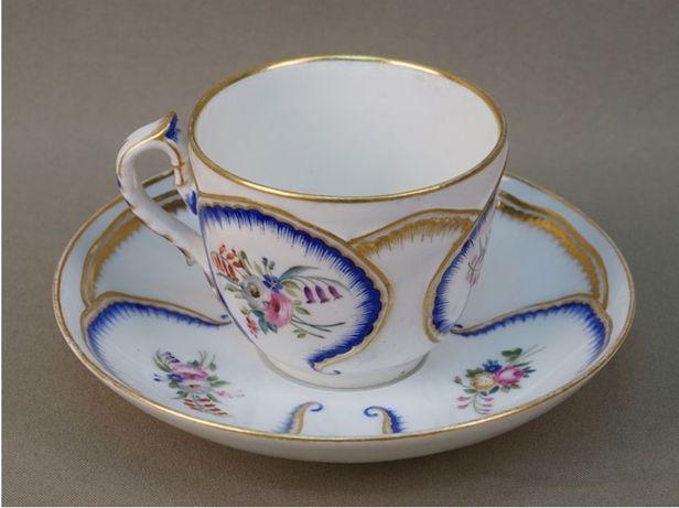 Императорская чашка с блюдцем 1907 года