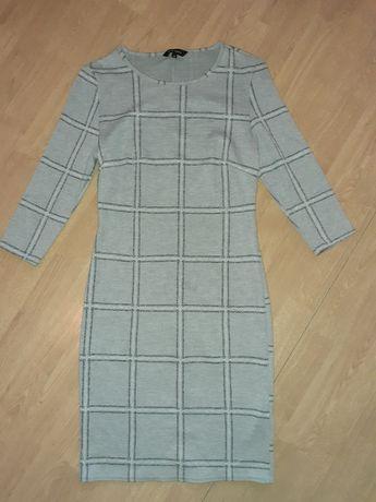 Siwa sukienka New Look rozmiar 36