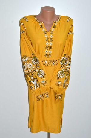 Вишиванка, вышиванка, сукня з вишивкою, вишита сукня розмір 46-48