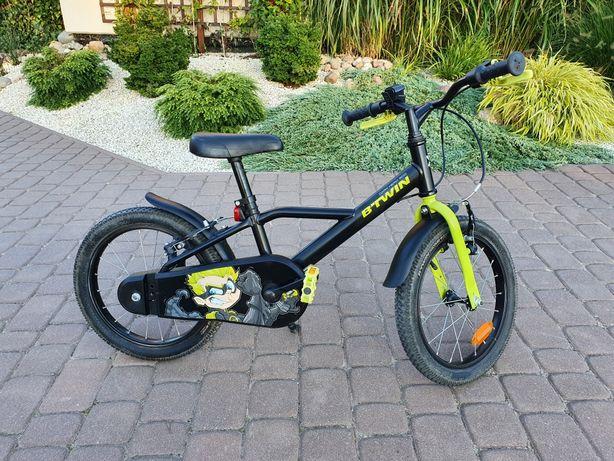 Rower dziecięcy Btwin 500 Dark Hero 16 cali