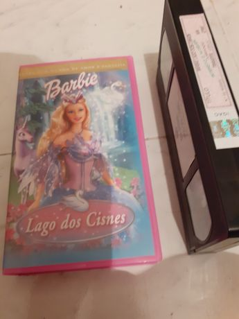 Cassete VHS FILME da BARBIE Lago dos Cines original INFANTIL