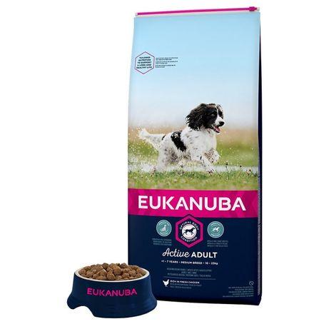 EUKANUBA adulto medium breed - 18 kilos