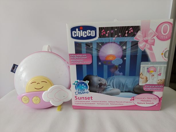 Chicco 3w1 projektor pozytywka i lampka
