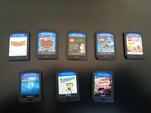 Jogos Psvita (Preço especial por comprar todos)