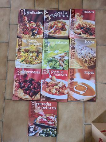 Livros Culinária/Alimentação