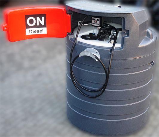 Zbiornik dwupłaszczowy na paliwo rope olej 1500L 2500L