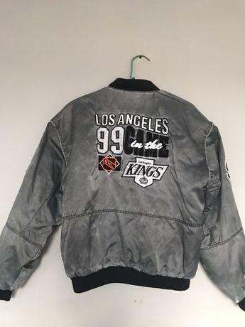Oryginalna kurtka NHL Los Angeles Kings z USAhokej hokejówka rozmiar L