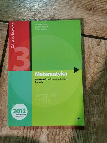 Matematyka podstawa podręcznik Kurczab, Świda 3